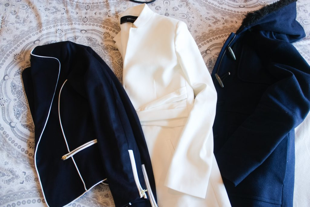 Three jackets for March travel in Europe