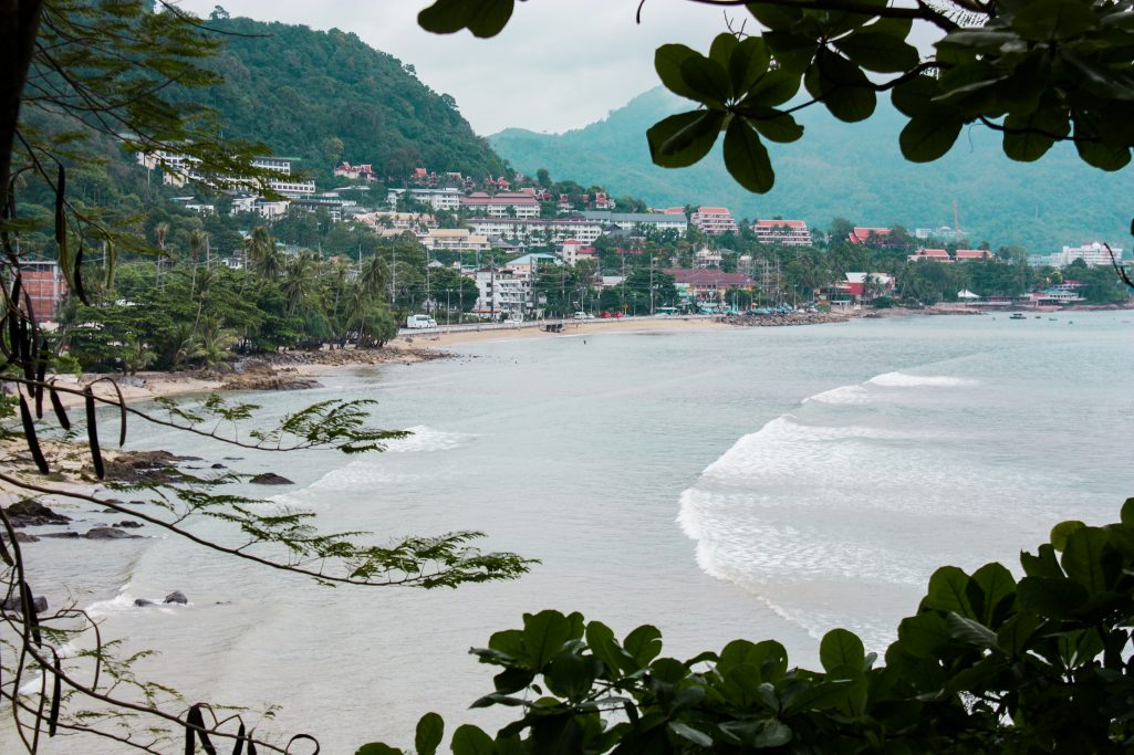 View of Patong Beach Phuket Thailand