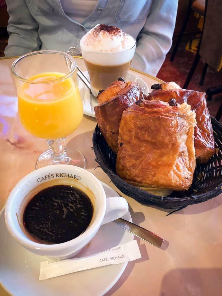 A weekend in Paris - French breakfast