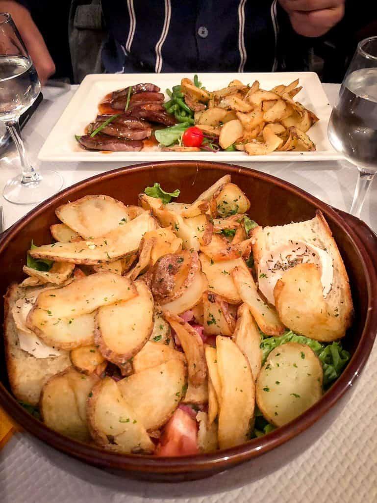 A weekend in Paris - Salad at le Relais Gascon