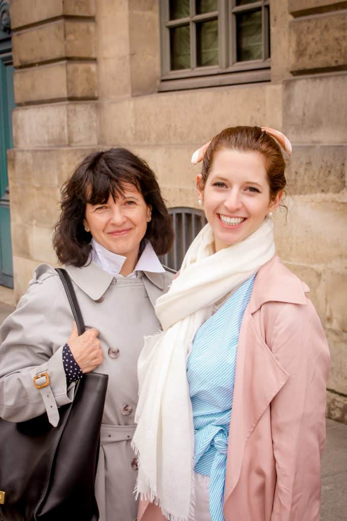 A weekend in Paris - Bettina and her mom
