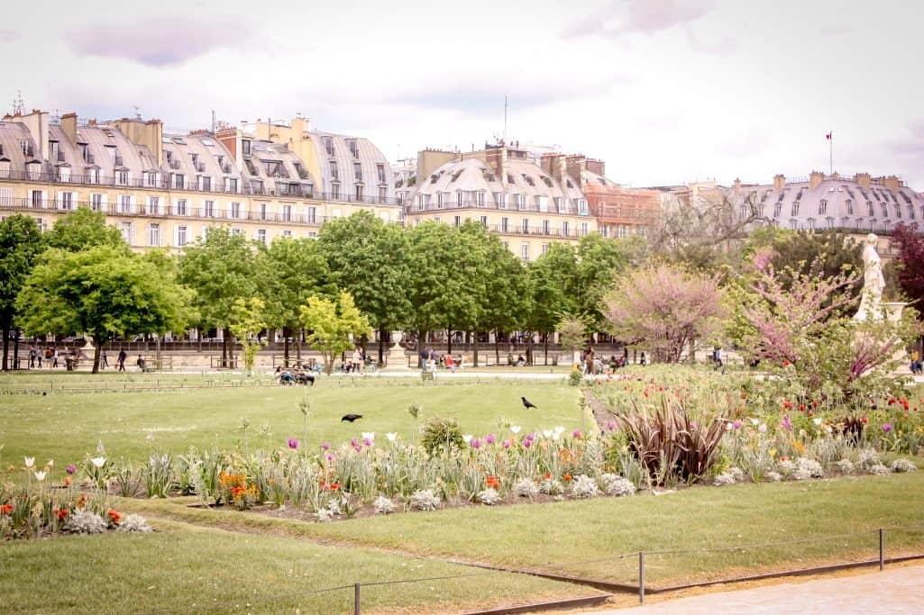 A weekend in Paris - strolling through parks