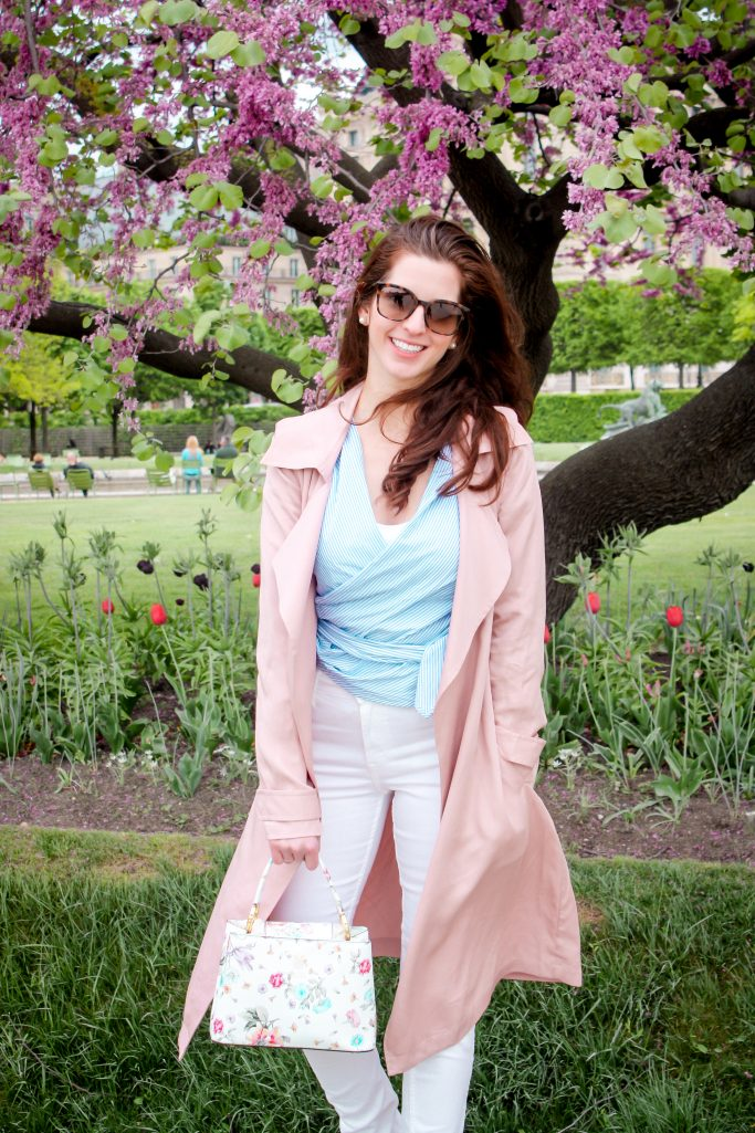 A weekend in Paris - Blossoms and spring fashion