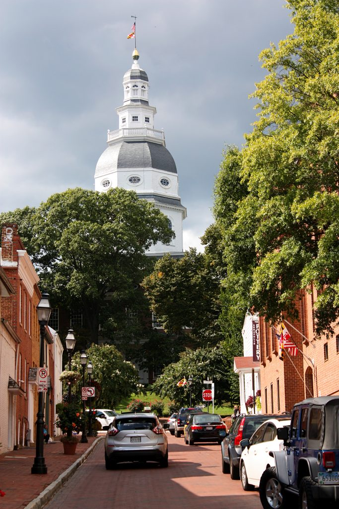 Annapolis, Maryland, Dover, Delaware, Cape May and Atlantic City, New Jersey 14