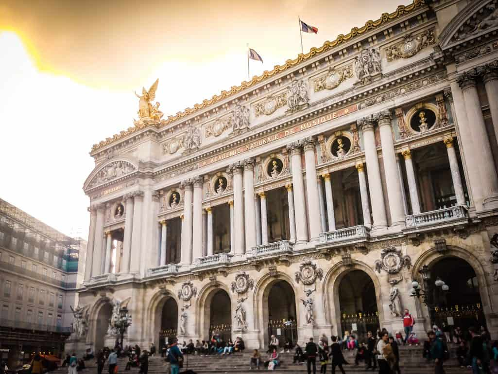 A weekend in Paris - Sunset by the Opera