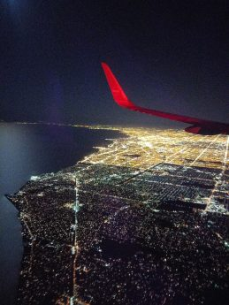 A weekend in Paris - Aerial view of Chicago