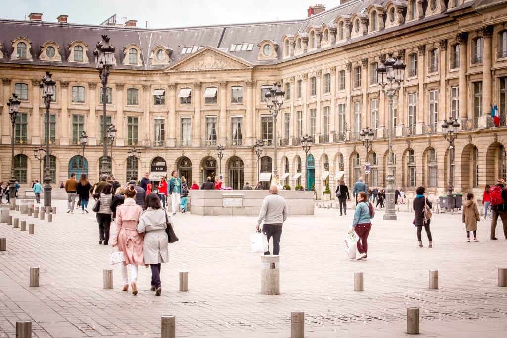 A weekend in Paris - Walking around Place Vendome