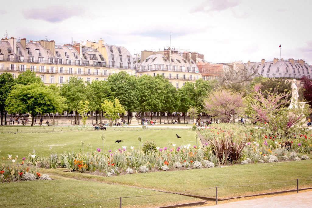 A weekend in Paris - strolling through parks