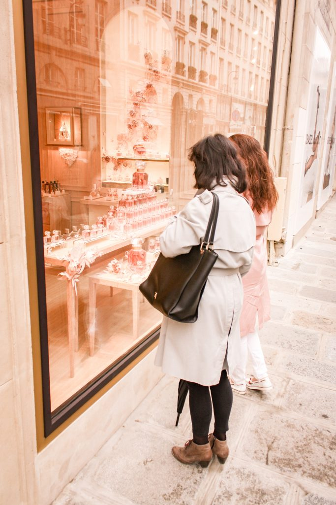 A weekend in Paris - Window shopping at Guerlain