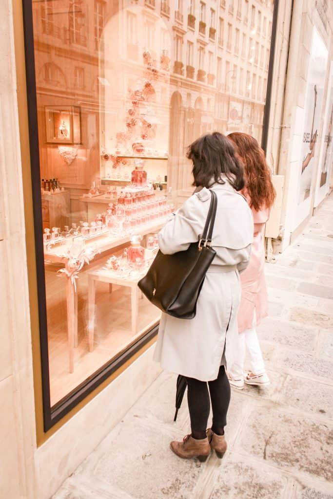 A weekend in Paris - Window shopping at Guerlain
